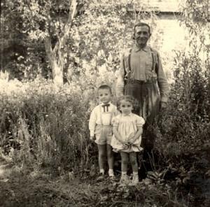 Daniel et Serge BRIEZ et le Grand Père
