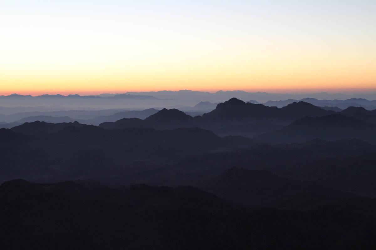 Mont Moïse - Sinaï - photo Serge Briez