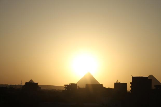 Pyramide au Caire
