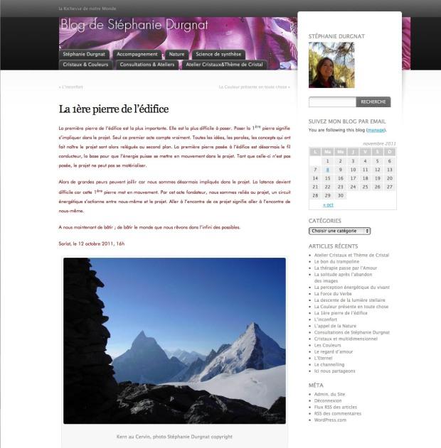 blog de Stephanie Durgnat