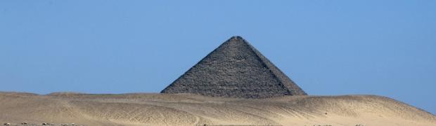 Pyramide de Dahchour, Egypte photo Serge Briez©