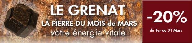 retrouvez le GRENAT sur www.cristaux-sante.com