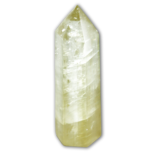 Calcite topaze pointe