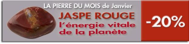 PIERRE DU MOIS DE JANVIER : JASPE ROUGE, www.cristaux-sante.com