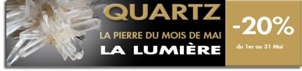 PIERRE DU MOIS DE MAI 2013 LE QUARTZ. www.cristaux-sante.com