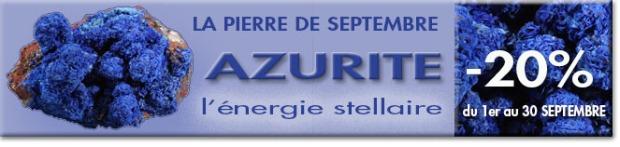 AZURITE, la Pierre du mois sur Cristaux et Santé