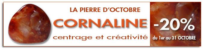 La Cornaline, Pierre du mois d'Octobre