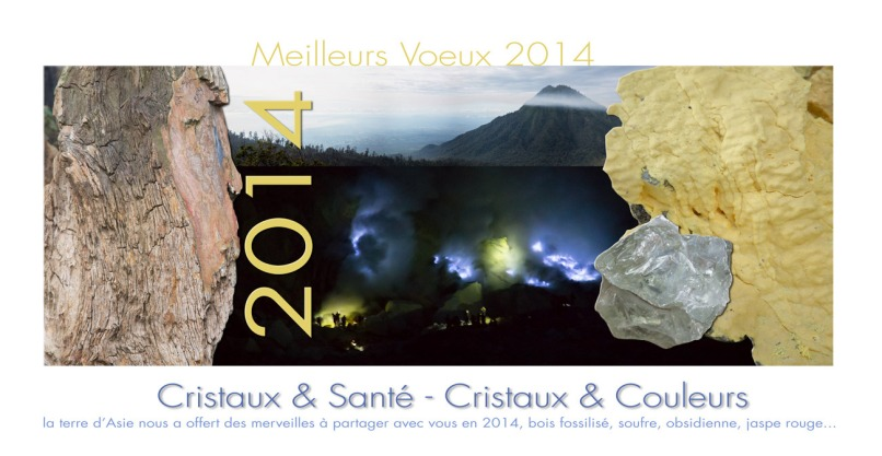 meilleurs voeux CRISTAUX SANTE 2014, photos Serge Briez ®