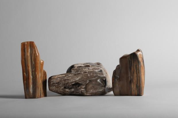 Bois fossilisés, formes libre, photo Serge Briez®