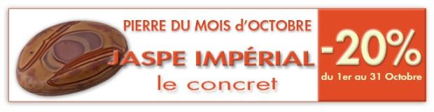 pierre du mois d'octobre 2014 : Jaspe impérial www.cristaux-sante.com