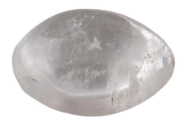 Galet de QUARTZ ou Cristal de Roche, photo Serge Briez®capmediations 2014