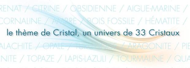 Diapo présentation thème de cristal