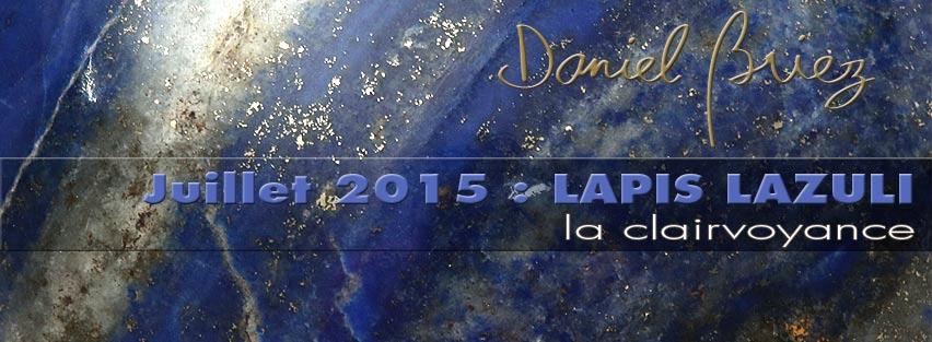 LA PIERRE DU MOIS DE JUILLET 2015 - LE LAPIS LAZULI