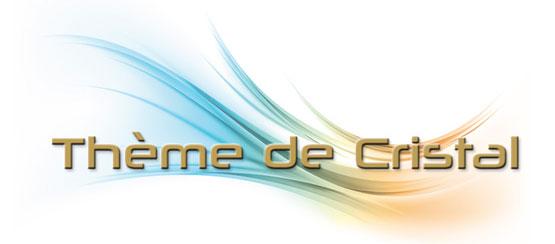 Logo thème de cristal
