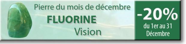 Retrouvez la pierre du mois de Décembre : la Fluorine sur www.cristaux-sante.com