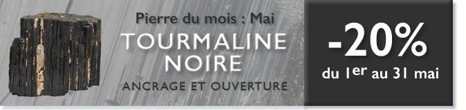 Retrouvez la pierre du mois de Mai 2016 : la TOURMALINE NOIRE sur www.cristaux-sante.com