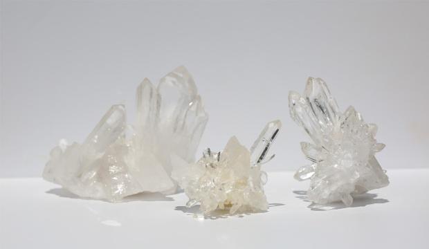 Druse de Cristal de Roche (Quartz), photo ®Cristaux et Santé, 2016