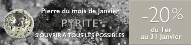 Retrouvez la pierre du mois de Janvier 2017 : la Pyrite sur www.cristaux-sante.com