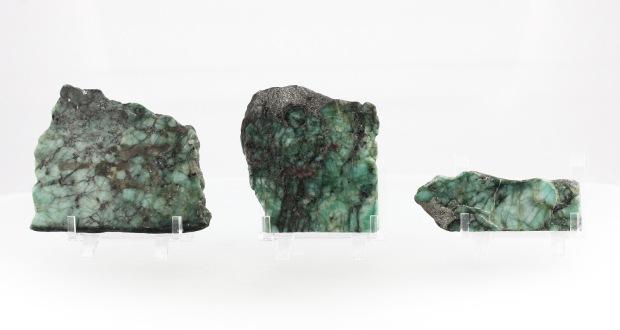 Plaques d'Émeraude, photo ®Cristaux et Santé, 2017