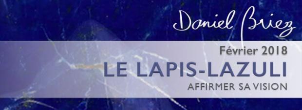 LA PIERRE DU MOIS DE FEVRIER 2018 – LE LAPIS-LAZULI