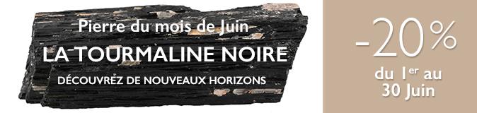 Pierre du mois de Juin 2018: La Tourmaline Noire