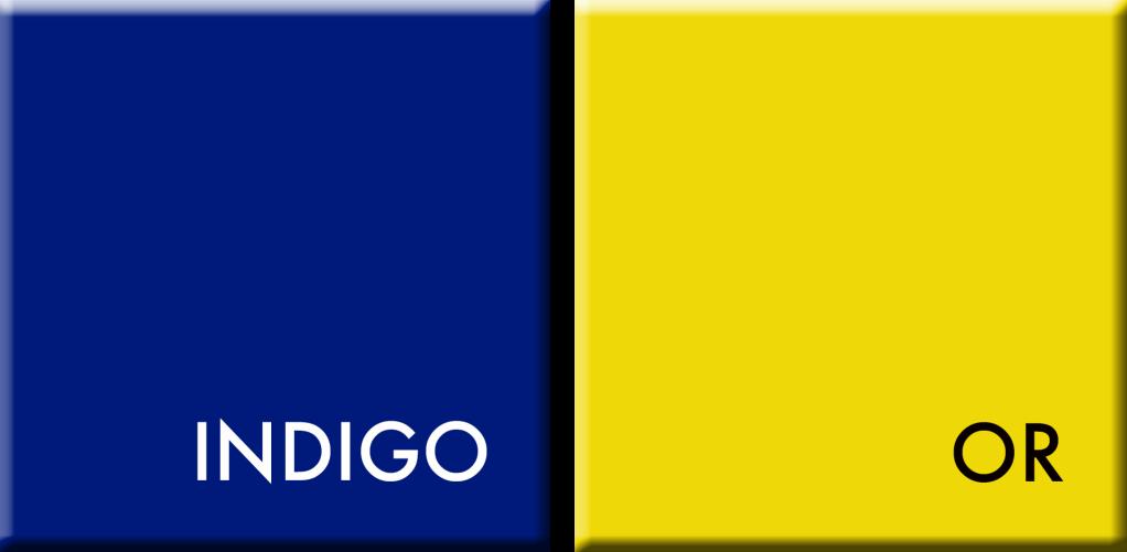 COULEURS DU JOUR INDIGO-OR du 5 au 10 avril