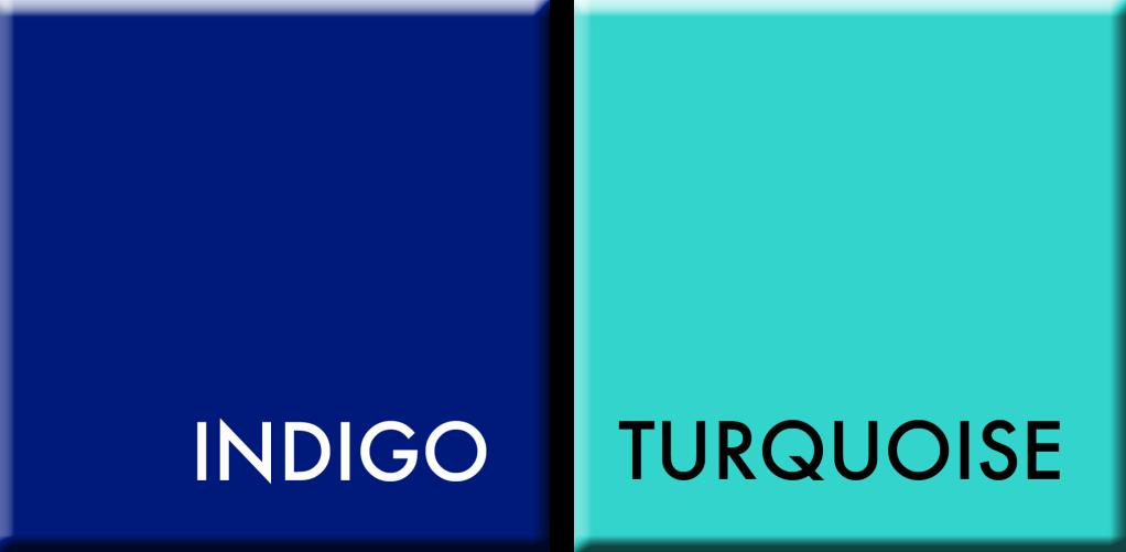 COULEURS DU JOUR INDIGO-TURQUOISE DU 10 AU 15 AVRIL