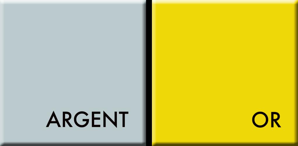 ARGENT-OR,couleurs du jour du 18 au 23 août